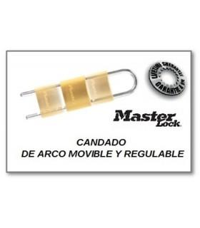 CANDADO DE ARCO MOVIBLE Y REGULABLE, Master Lock