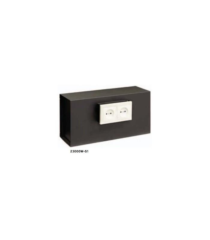 caja fuerte facil ocultacion socket empotrado en pared On caja de enchufes