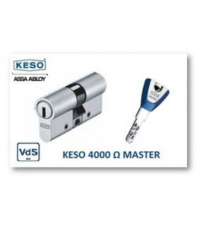 Cilindro Alta Seguridad 4000Ω Master, KESO