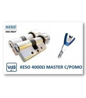 CILINDRO ALTA SEGURIDAD 4000Ω Master con Pomo, KESO