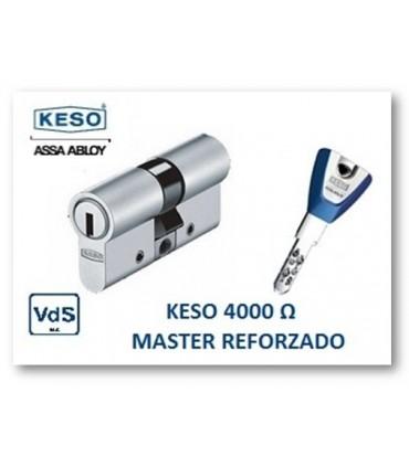 CILINDRO ALTA SEGURIDAD 4000Ω Master Reforzado, KESO