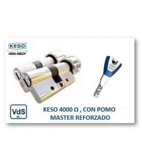 CILINDRO ALTA SEGURIDAD 4000Ω Master Reforzado con pomo, KESO