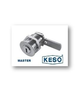 Cilindro Alta Seguridad de Buzon 4000Ω Master, Cromo,KESO