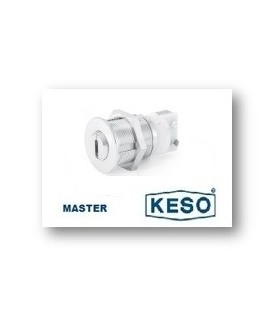 Cilindro Alta Seguridad Switch 4000Ω Master, Cromo,KESO