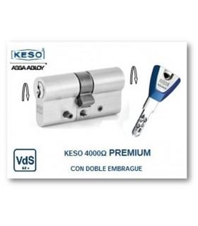 Cilindro Alta Seguridad 4000Ω Premium con Doble Embrague, KESO