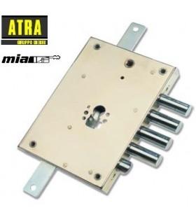 KIT alta seguridad substitución cerradura gorjas de puertas acorazadas por cilidro europeo, MIA
