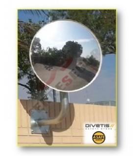 Espejos vigilancia 2 direcciones circular , Divetis