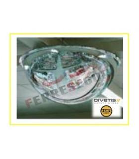 Espejos vigilancia 4 direcciones media esfera , Divetis