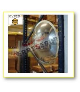 Espejos vigilancia 3 direcciones media esfera vertical , Divetis