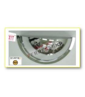 Espejos vigilancia 3 direcciones cuarto esfera, Divetis