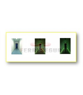 Marcajes para puertas adhesivos fotoluminiscentes,