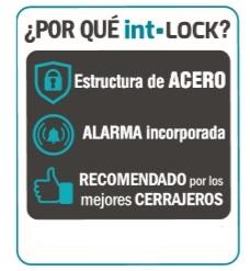 ayr int lock cerradura invisible con alarma