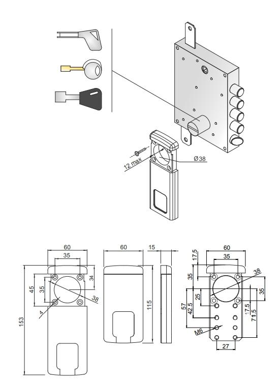 disec escudo magnetico mg410