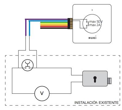 Nuki smart relay opener